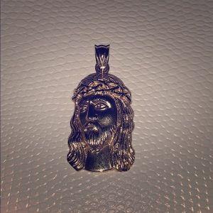 Jewelry - Hundred percent authentic 14k Jesus pendant
